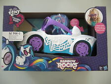 MY LITTLE PONY EQUESTRIA GIRLS DJ PON-3 CABRIOLET ROCK EN BOITE NEUF