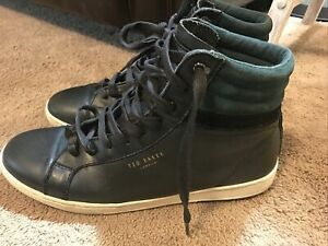 Ted Baker London Tennis Shoes Sneakers, Mens Leather, Sz 10