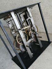 Mouvement horloge comtoise clock uhr  (echappement arriere coq)