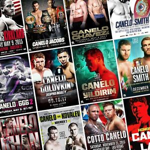 CANELO ALVAREZ Fight Posters PHOTO Print POSTER Boxing Saul Golovkin Cotto UFC