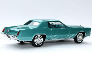 Automodello ONE24 1968 Cadillac Fleetwood Eldorado 1:24 Silverpine Green 24C010