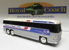 "Greyhound Classroom on Wheels 10"" Plastic MC-9 Bank Bus"