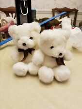 2 Bon Bon Teddy Bear Twins