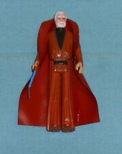 vintage STAR WARS BEN OBI-WAN KENOBI #2 (white hair) with original cape + sword