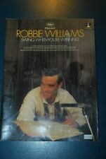 Robbie Williams swing when your winning songbook sheet music book piano guitar