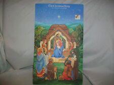 Vintage Hallmark The Christmas Story Advent Calendar Paper