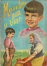 MARCELLINO PANE E VINO ALBUM DI FIGURINE COMPLETO 1^ EDIZIONE SPAGNOLA del 1955
