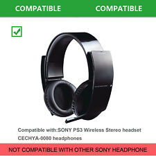 Ear pads for Sony CECHYA-0080 Playstation 3 PS3 Wireless Stereo Headphones