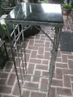 Vintage/Antique Wrought Iron/Marble Plant stand