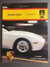 1993 Porsche PCA Porsche Parade Results Cincinnati, OH RARE!! Awesome L@@K
