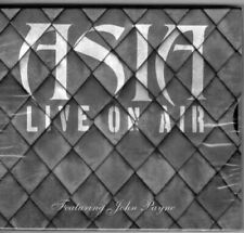 ASIA WITH JOHN PAYNE LIVE ON AIR CD NEW SEALED 20TH ANNIVERSARY CONCERT DONT CRY