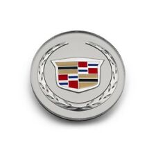 19165750 - Cadillac ATS, CTS Center Cap Silver w/ Colored Wreath 4 Pc set