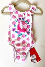 Seafolly Roses Are Pink Swimsuit 12-18 Months NWT Retails $56 Price $24