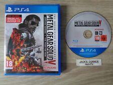 Metal Gear Solid V la experiencia definitiva PS4 juego libre UK FRANQUEO