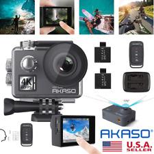 AKASO Action Camera 4K Camcorder Digital Video Recorder Waterproof DV Sports Cam