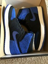 Nike Air Jordan 1 Flyknit Mens UK Size 6 USA size 7 Royal Blue BRAND NEW IN BOX