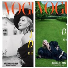 Madonna VOGUE ITALIA 2018 Magazine NEW Italy Icon BOTH MAGS Sealed with POSTER