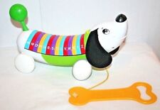 Leap Frog Alpha Pup Abc Alphabet Electronic Interactive Weiner Dog Euc working