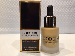 Carolina Herrera Good Girl Highlighter Drops 0.47 oz / 14 ml New in Box NIB