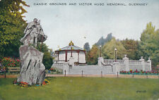 PC68981 Candie Grounds and Victor Hugo Memorial. Guernsey. Valentine. Valesque