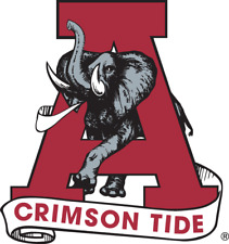 Alabama Crimson Tide NCAA Color Die-Cut Decal / Sticker *Free Shipping