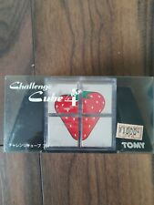 Rare Challenge Cube 4 by Tomy from Japan Twisty Slide Puzzle Brainteaser