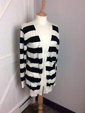 Joseph Fine Cotton Knit Striped  Cardigan. Size M. Superb Condition