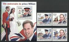 Royal, Kate, William - Togo - ** MNH 2012