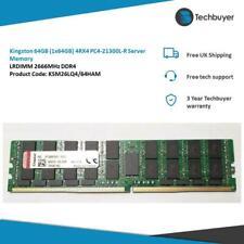 KINGSTON 64GB (1*64GB) 4RX4 PC4-21300L-R DDR4-2666MHZ LRDIMM - KSM26LQ4/64HAM
