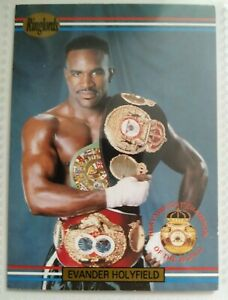 Ringlords - 40 Official Boxing Trading Cards - Holyfield, Lewis, Eubank, Ali