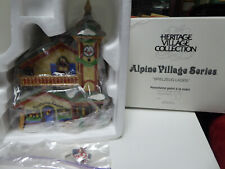 Dept 56 Alpine Village Series Spielzeug Laden In Sleeve Cord Included No Bulb
