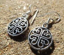 Silver Asian Earrings without Stone