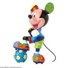 DISNEY BRITTO Mickey Mouse Fussballspieler NEU/OVP Micky Fussball Figur 4052558