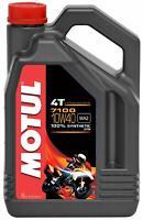 Aceite de Moto  Motul 7100 10W40 4T 4L 100% Sintético