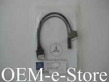 2013 2014 Mercedes E S G GL ML R CL SL GLK  iPod iPhone iPad AUX Cable Adapter