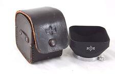 MINT Mamiya Original 42mm TLR Standard Metal Hood for early TLR Lenses, + case