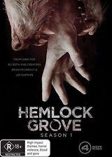 Hemlock Grove Season 1 (DVD, 4-Disc Set) : NEW DVD