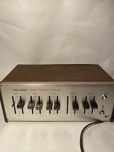 Realistic 31-1987 Stereo Frequency Equalizer 5 Band Vintage EQ
