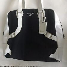 Brooks White Black Bag Purse Women Carry On For Shoes And Accessories Cosmetics