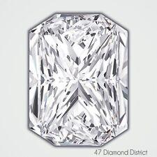 1.01ct. K-SI1 Ex Polish Rectan. Radiant AGI Certified Diamond 6.28x5.08x3.55mm