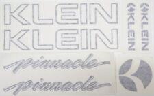 KLEIN Pinnacle Decals ~ Black Outline Pinnacle Decals ~ Klein Frame Decals