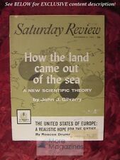 Saturday Review November 4 1961 JOHN J. GILVARRY ROSCOE DRUMMOND