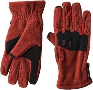 New Under Armour Men's Cold Gear Fleece Gloves