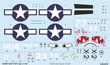 Eduard Decals 1/48 Grumman F6F-3 Hellcat Part 2 # D48057