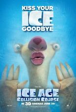 ICE AGE: COLLISION COURSE RARE!! 4ft x 5.5ft Vinyl Banner Poster