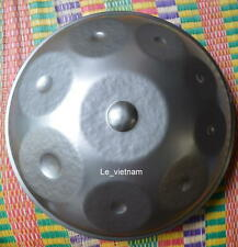NEW Harmonic Handpan in D Minor 9 notes steel hand drum hand pan + hanging BAG