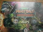 MAP BOOK /ORCS MUST DIE THE BOARDGAME !