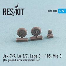 Reskit - 72-0030 - Jak-7/9, La-5/7, Lagg-3, I-185, Mig-3 (for ground airfields)