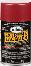 New Testors Mythical Maroon Extreme Lacquer Gloss 3oz. Spray Paint tes1838