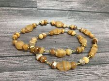 Southwest Necklace Faux Stone Chunky Statement Nugget - Handmade in Mexico, #H9